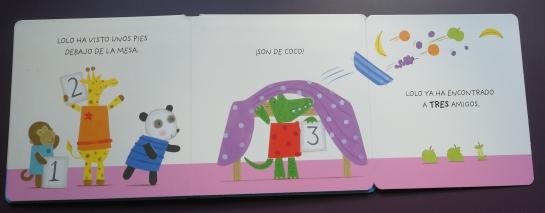 Interior del libro Lolo y sus amigos literatura SM